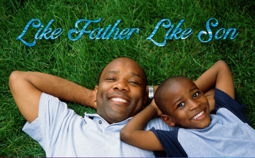 Like Father Like Son?: August 8-14, 2019 (Thurs-Wed): Read through 2 Chronicles, Psalms, andHebrews