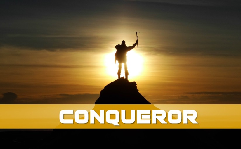 Conqueror: October 1-7, 2019 (Tues-Mon): Read through Psalms, Jeremiah, andLamentations
