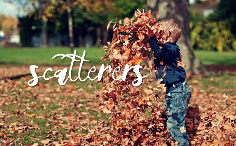 Scatterers: October 22-31, 2019 (Tues-Thurs): Read through Song of Songs, Jeremiah, Lamentations, Obadiah, Nahum, and 1-2Timothy